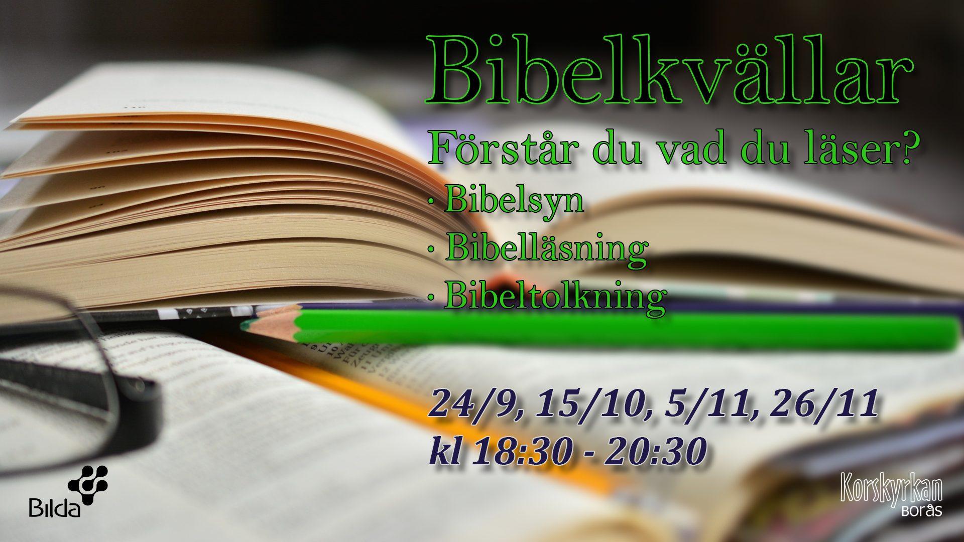 Bibelkvällar