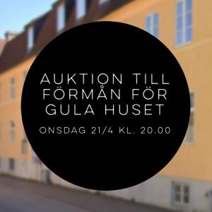 Auktion till förmån för Gula Huset